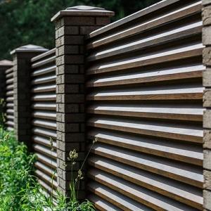 Забор жалюзи М-серия