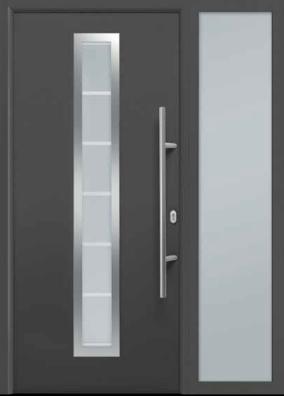 двери металлические входные с остеклени