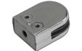 Стеклодержатель на плоскость, 8 мм, штампованный (AISI304), арт. 039