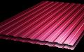 Металлопрофиль для забора (профнастил) С-8 высота листа 1.7 метра 3005 (вишнёвый, винно-красный)