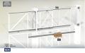 Комплект телескопических откатных ворот Follow Me 4.25.