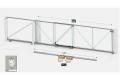 Комплект телескопических откатных ворот Follow Me M 8.0